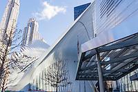 America,New York, T, Manhattan, ground Zero,Dove of Calatrava