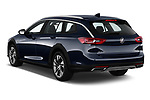 Car pictures of rear three quarter view of a 2018 Buick Regal TourX Essence AWD 5 Door Wagon angular rear