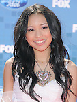 Thia Megia at Fox's  2011 American Idol Finale held at The Nokia Live in Los Angeles, California on May 25,2011                                                                               © 2011 Hollywood Press Agency