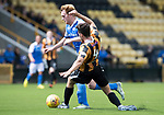 East Fife v St Johnstone…29.07.17… Bayview… Pre-Season Friendly<br />Liam Craig is tackled by an East Fife trilaist<br />Picture by Graeme Hart.<br />Copyright Perthshire Picture Agency<br />Tel: 01738 623350  Mobile: 07990 594431
