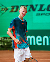 August 6, 2014, Netherlands, Rotterdam, TV Victoria, Tennis, National Junior Championships, NJK,  Stephan Gerritsen (NED)<br /> Photo: Tennisimages/Henk Koster