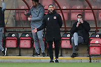 Leyton Orient manager Jobi McAnuff during Leyton Orient vs Oldham Athletic, Sky Bet EFL League 2 Football at The Breyer Group Stadium on 27th March 2021