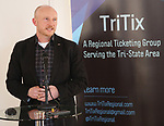 Matt Zarracina (True Tickets) during the 2019 TRITIX Forum at Arts West Building on September 19, 2019 in New York City.