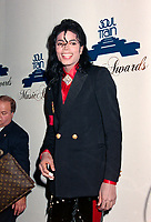 ARCHIVE: LOS ANGELES, CA: 14th April 1989: Michael Jackson at the Soul Train Music Awards.<br /> File photo © Paul Smith/Featureflash