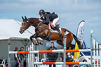 NZL-Lilly Anderson rides Catalac de Ville during the Showjumping for the Prestige Equestrian CCI3*-L. 2020 NZL-Puhinui International Three Day Event. Puhinui Reserve. Auckland. Sunday 13 December. Copyright Photo: Libby Law Photography