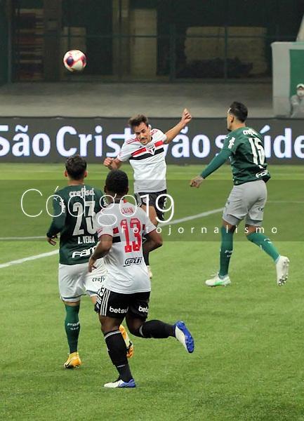São Paulo (SP), 20/05/2021 - Palmeiras-São Paulo - Partida entre Palmeiras e São Paulo válida pela primeira partida da final do Campeonato Paulista na Arena Allianz Parque em São Paulo na noite desta quinta-feira (20).