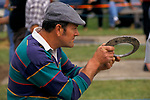 Quoits competition Snape North Yorkshire England.