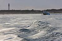 Europe/France/Aquitaine/33/Gironde/Bassin d'Arcachon/Le Cap Ferret: Les bateaux de l'UBA qui font la navette entre le Cap Ferret et Arcachon et des excursions sur le bassin