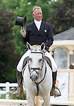 10 July 2009: Bruce Davidson Sr. riding Cruise Lion during the dressage phase of the CIC 3* Maui Jim Horse Trials at Lamplight Equestrian Center in Wayne, Illinois.