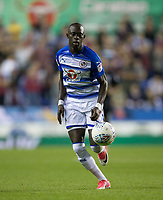 Modou Barrow of Reading during the Sky Bet Championship match between Reading and Aston Villa at the Madejski Stadium, Reading, England on 15 August 2017. Photo by Andy Rowland / PRiME Media Images.