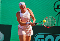 Netherlands, Amstelveen, August 22, 2015, Tennis,  National Veteran Championships, NVK, TV de Kegel,  Lady's  45+, Annemiek Wissink<br /> Photo: Tennisimages/Henk Koster