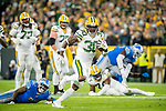 Green Bay Packers against the Detroit Lions during a regular season game at Lambeau Field in Green Bay on Monday, October 14, 2019.