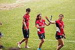 March Past during the HSBC Hong Kong Rugby Sevens 2017 on 08 April 2017 in Hong Kong Stadium, Hong Kong, China. Photo by Chris Wong / Power Sport Images