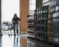 A customer enters the front doors at a Costco Wholesale Warehouse Friday, March 9, 2007 in Columbus, Ohio.