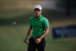 Ye Htet Aung of Myanmar in action during the Venetian Macao Open 2016 at the Macau Golf and Country Club on 16 October 2016 in Macau, China. Photo by Marcio Machado / Power Sport Images
