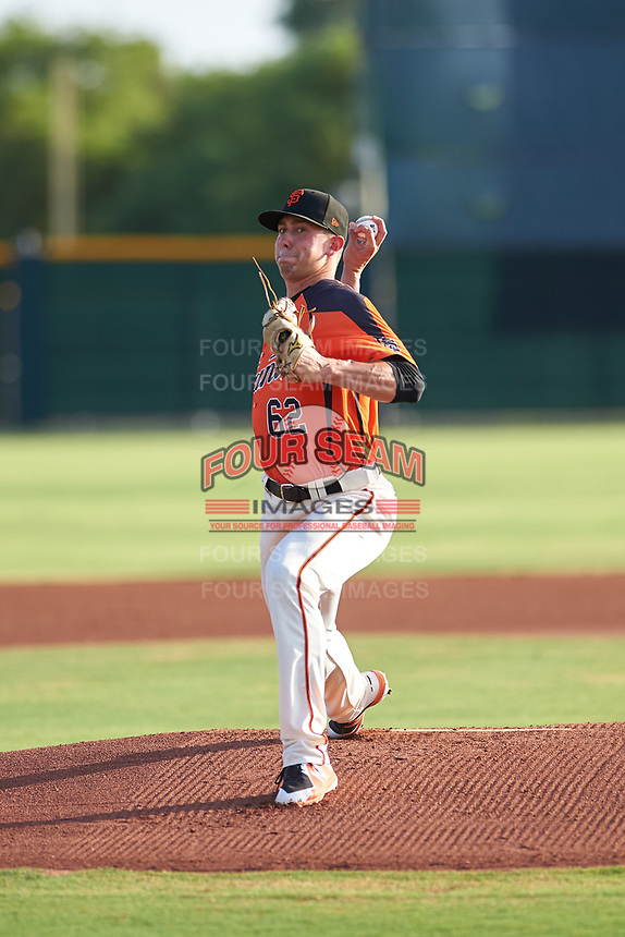 AZL Giants Orange starting pitcher Nick Avila (62) during an Arizona League game against the AZL Mariners on July 18, 2019 at the Giants Baseball Complex in Scottsdale, Arizona. The AZL Giants Orange defeated the AZL Mariners 7-4. (Zachary Lucy/Four Seam Images)