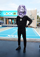 """MIAMI BEACH, FL - JANUARY 31: Deontay Wilder on the set of """"Lock It In"""" on the Fox Sports South Beach studio during Super Bowl LIV week on January 31, 2020 in Miami Beach, Florida. (Photo by Frank Micelotta/Fox Sports/PictureGroup)"""