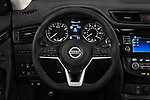 Car pictures of steering wheel view of a 2017 Nissan Rogue SL-Hybrid 5 Door SUV Steering Wheel