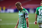 Sergio Canales (Real Betis) reacts during  La Liga match round 36 between Atletico de Madrid and Real Betis Balompie at Wanda Metropolitano Stadium in Madrid, Spain, as the season resumed following a three-month absence due to the novel coronavirus COVID-19 pandemic. Jul 11, 2020. (ALTERPHOTOS/Manu R.B.)