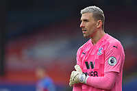 Vicente Guaita of Crystal Palace during the Premier League behind closed doors match between Crystal Palace and Fulham at Selhurst Park, London, England on 28 February 2021. Photo by Vince Mignott / PRiME Media Images.