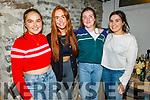 Sheila O'Donnell, Regina Roche, Rachel Horan and Leona Lyons enjoying the evening in Bella Bia on Saturday.