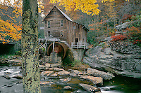 Glade Creek Grist Mill<br /> Babcock State Park<br /> Allegheny Mountains<br /> West Virginia