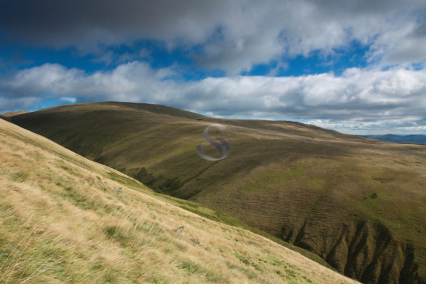 The Ochil Hills from The Law, the Ochil Hills, Tillicoultry, Clackmannanshire