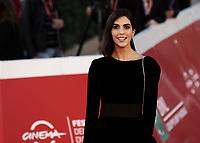"Spanish actress Rocio Munoz Morales poses on the red carpet for the screening of the film ""Calabria, terra mia"" during the 15th Rome Film Festival (Festa del Cinema di Roma) at the Auditorium Parco della Musica in Rome on October 20, 2020.<br /> UPDATE IMAGES PRESS/Isabella Bonotto"