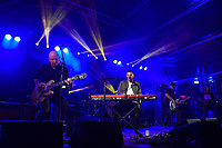 Opshop performing at Jim Beam Homegrown, Wellington Waterfront, New Zealand on Saturday 7 April 2018.<br /> Photo by Masanori Udagawa. <br /> www.photowellington.photoshelter.com