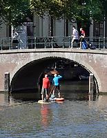 Nederland Amsterdam- 2020.  Suppen in Amsterdam.   Foto ANP / Hollandse Hoogte / Berlinda van Dam