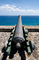 Fort de Windt, Statia (St. Eustatius), Caribbean.