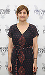Gina Gionfriddo attends the photo call for The Vineyard Theatre production of 'Can You Forgive Her' at the New 42nd Street Studios on April 3, 2017 in New York City.