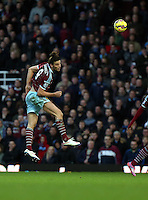 Sunday 07 December 2014<br /> Pictured: Andy Carroll of West Ham<br /> Re: Premier League West Ham United v Swansea City FC at Boleyn Ground, London, UK.