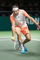ABN AMRO World Tennis Tournament, Rotterdam, The Netherlands, 17 Februari, 2017, Dominic Thiem (AUT)<br /> Photo: Henk Koster