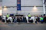 Tottenham Hotspur 0 Lazio 0, 20/09/2012. White Hart Lane, Europa League. Lazio fans outside White Hart Lane. Photo by Simon Gill.