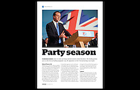 moderngov: Issue November 2010, Page 4 - David Cameron at the Conservative Party Conference 2010 - Birmingham International Centre - 6th October 2010