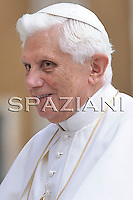 Pope Benedict XVI he leaves his weekly general audience in St. Peter's Square at the Vatican, Wednesday, June 10, 2009
