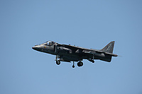 FORT LAUDERDALE, FLORIDA - MAY 07:  U.S. Marine Corps AV-8B Harrier Demo at the Fort Lauderdale Air Show on May 7, 2016 in Fort Lauderdale, Florida. <br /> <br /> <br /> People:  U.S. Marine Corps AV-8B Harrier