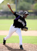 Jonnathan Aristil / Colorado Rockies 2008 Instructional League..Photo by:  Bill Mitchell/Four Seam Images