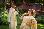 Jodee Cherney & Vinay Krishnan wedding at the bride's parents' home in Bellevue, Wis., on June 18, 2016.