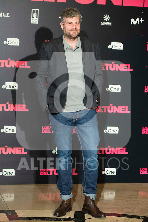 """Raul Cimas attends to the junket of the film """"Los del Tunel"""" at Palafox Cinema in Madrid, Spain. January 17, 2017. (ALTERPHOTOS/BorjaB.Hojas)"""
