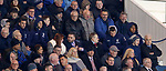 03.04.2019 Rangers v Hearts: Alfredo Morelos in the stand