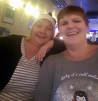 Pictured: Julie Gillard (L), image found on social media site<br /> Re: 55 year old Julie Gillard has been jailed after dishonestly claiming more than £40,000 in benefits.<br /> Gillard was overpaid income support, council tax support and housing benefits for over four years totalling £42,006.79.<br /> She was jailed for 12 months by Merthyr Tydfil Crown Court.<br /> Gillard, of  Pentre, south Wales started claiming the benefits in 2011, dishonestly telling the Department for Work and Pensions her husband was not working.<br /> Ove four and a half years, she was overpaid income support of £37,545.37, council tax support of £1,726.62 and housing benefit of £2,734.80.