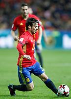 Spain's David Jimenez Silva during FIFA World Cup 2018 Qualifying Round match. March 24,2017.(ALTERPHOTOS/Acero) /NortePhoto.com