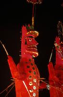 Indien, Rajasthan, Jaipur, Verbrennung des Dämonenkönigs Ravana