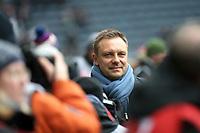 03.03.2018, Commerzbank - Arena, Frankfurt, GER, 1.FBL, Eintracht Frankfurt vs Hannover 96 , <br />Trainer Andre Breitenreiter (Hannover) *** Local Caption *** © pixathlon<br /> Contact: +49-40-22 63 02 60 , info@pixathlon.de