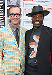 Adam Smith and Billy Poter attends the Broadway Opening Night performance of 'The Prince of Broadway' at the Samuel J. Friedman Theatre on August 24, 2017 in New York City.