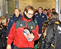 UEFA Women's Euro Qualifying group stage (Group 3) -  KFC Dessel - Armand Melis Stadion : BELGIUM -Northern Ireland ( Belgie - Noord Ierland ) : Sven Cnudde..foto DAVID CATRY / Vrouwenteam.be / Loft6.be