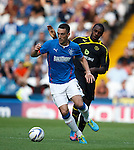 Lee Wallace and Michail Antonio