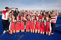 St Margarets College vs. Christchurch Girls High School. South Island Secondary Schools Hockey Premiership, Nga Puna Wai, Christchurch, Friday 4 September. Photo: Martin Hunter/www.bwmedia.co.nz